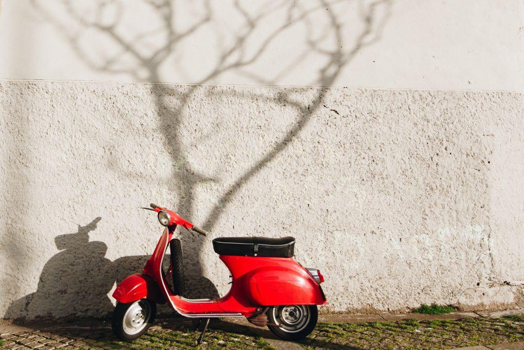 Onderdelen scooter
